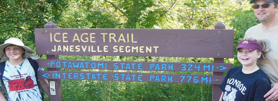 ice age trail janesville rock county rock trail coalition