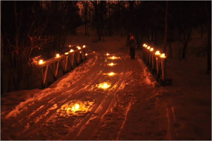 Candlelight SuperSki (or Hike) Friends of Rockport Park @ Rockport Park | Janesville | Wisconsin | United States