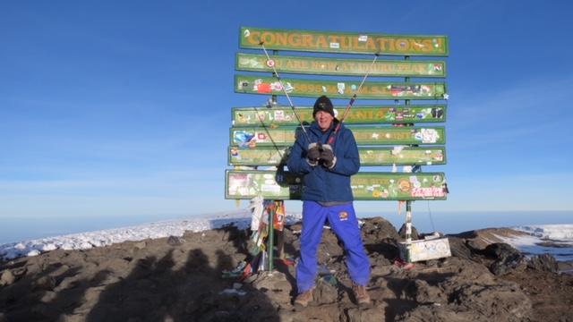 From Kilimanjaro to Antarctica with Gene VanGalder – RTC Speaker Meeting @ Beloit Public Library