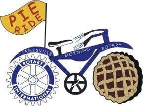 Janesville Morning Rotary's 19th Annual Pie Ride @ Lions Beach